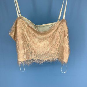 Free People Movement Intimate Crop Top Lace M/L